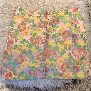 Patterned Mini Skirt from Majorelle (Revolve)